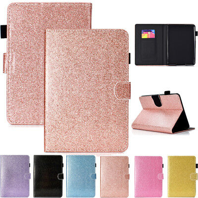 """For New Kindle Paperwhite 2018 6"""" 10th Gen Glitter Smart Leather Card Case Cover"""