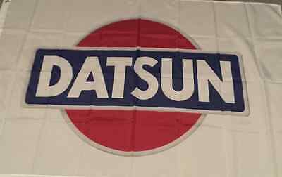 DATSUN FLAG. HUGE .Classic car show, Man Cave, Garage, Shed