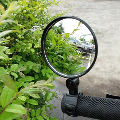 UK Bicycle Handlebar Mirror Rearview Back MTB Bike Road Cycling Convex Vision