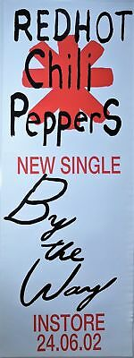 RARE - Red Hot Chili Peppers - By The Way Single Launch Pole Poster