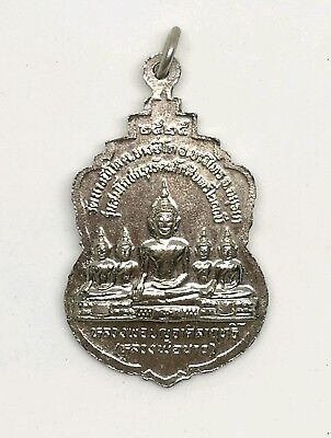 Pendant Phra LP Thai Amulet Buddha Monk Fetish Talisman Holy Miracle Rich Lucky