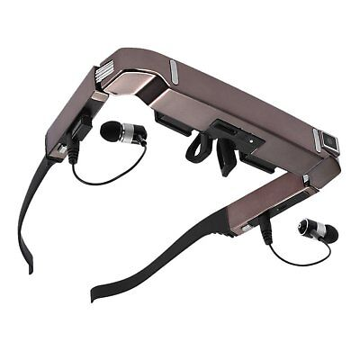 Bluetooth Vision 800 3D Video Glasses Android 4.4 Side By Side Video 5MP Camera