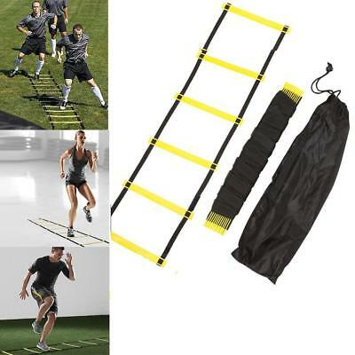 Rung Agility Ladder 3m 4m 6m 7m Speed Fitness for Soccer Football Feet Training