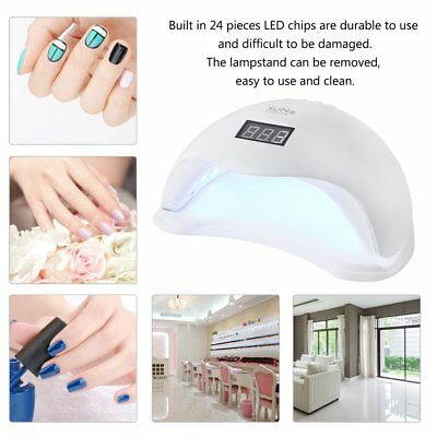 Pro 48W SUN5 LED UV Nail Lamp Light Gel Polish Cure Nail Dryer UV Lamp AU Plug B
