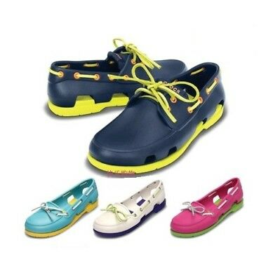 New Unisex Men Women Beach Line Boat Shoes Lace Up Casual Shoes Slip On Loafer