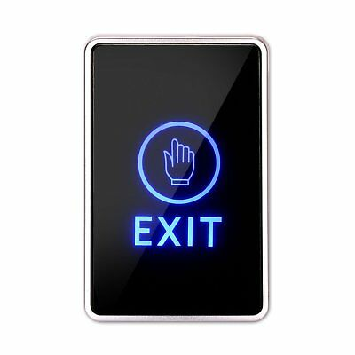 Door Exit Button Release Touch Pad with LED Indoor for Access Control