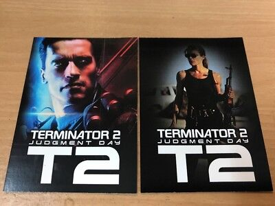 Terminator T2 Binder Exclusive B1 & B2 Promo Cards Unstoppable Card