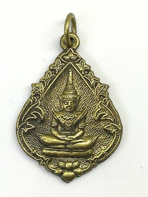 Pendant Thai Amulet LP Phra Buddha Monk Talisman Powerful Magic Holy Lucky Rich