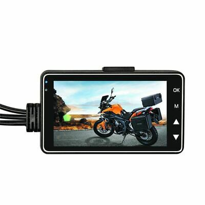 Motorcycle Camera Motor Dash Cam with Special Dual-track Front Rear Recorder