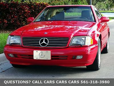 2000 Mercedes-Benz SL500 SL500 ROADSTER-LIKE 90 91 92 93 94 95 96 97 01 02 FLORIDA PRISTINE-BEST COLOR COMBO-ABSOLUTELY NONE NICER ANYWHERE-THIS IS THE ONE