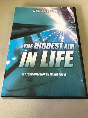 JESSE DUPLANTIS The Highest Aim in Life (2007, DVD) Live Life to the Fullest