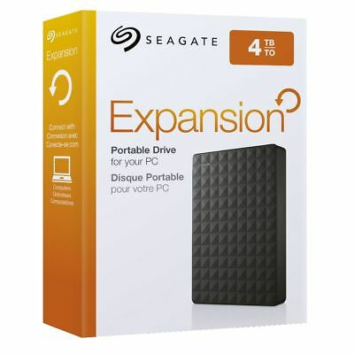 Brand New Seagate Expansion Portable 4TB external hard drive STEA4000400