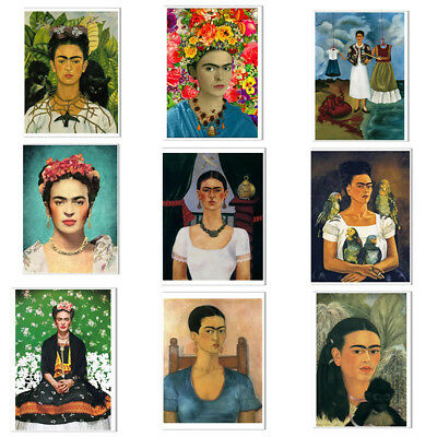 Frida Kahlo Poster Painter Canvas Wall Art Painting Unframed Home Wall Decor