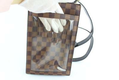 ce83e060ba98 Louis Vuitton Portobello Damier Ebene Brown Coated Canvas Cross Body Bag  3lz1812