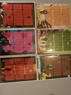 DEAD BODY ROAD US IMAGE COMIC 1-6, nm, first prints, complete