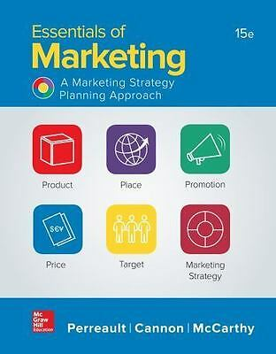 Essentials of Marketing 15th, Searchable PDF - 24hr Delivery