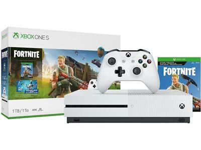 Xbox One S 1TB Console - Fortnite Bundle Brand New
