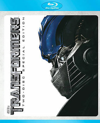 Transformers (Two-Disc Special Edition + BD Live) [Blu-ray], Excellent DVD, Kevi