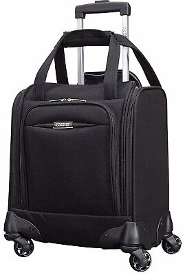 """American Tourister Meridian NXT 16 """" Spinner Underseat Suitcase Carry On New"""