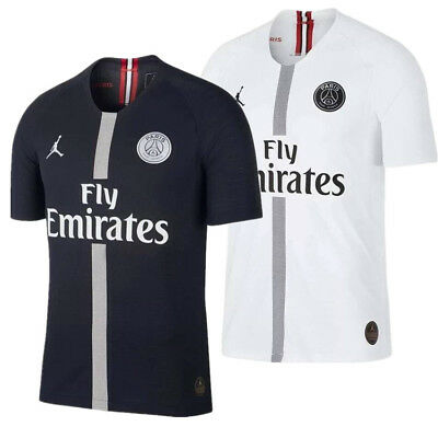 18 19  Paris Saint-Germain Jordan Soccer PSG Home Away Jersey