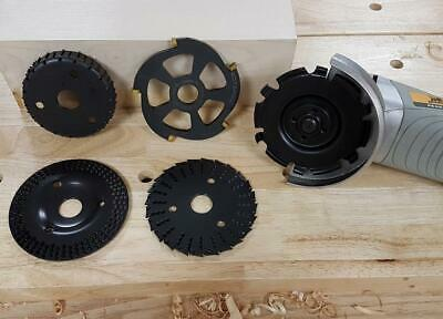 Rotarex Range of Wood Shaping Angle Grinding Grinder Carving Disc Discs