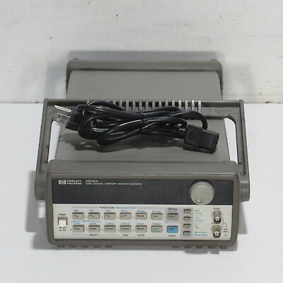 Hp/agilent 33120A 15 Mhz Function/arbitrary Waveform Generator With Option 001