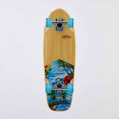"City Beach OBfive Paradise City 28"" Complete Cruiser Skateboard"