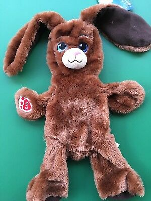 Build a Bear 16 in. Retired Chocolate Bunny Plush Toy - Unstuffed - NWT