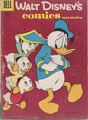 WALT DISNEY'S COMICS AND STORIES (1940 Series)  (DELL) #184 Good Comics