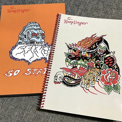 Chad Koeplinger - 50 States Photos of Travel & Sketchbook Tattoo Flash Book