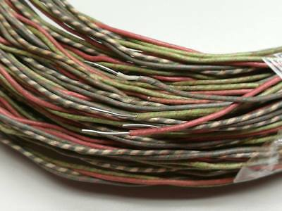 #23AWG Western Electric Waxed Tinned Solid Copper Cloth wire  42M #629