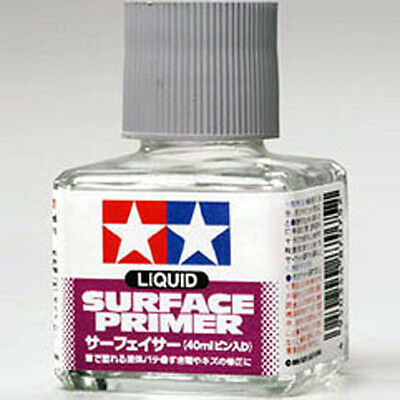 TAMIYA 87075 Liquid Surface Primer Gray 40ml PLASTIC MODEL KIT CRAFT TOOLS NEW