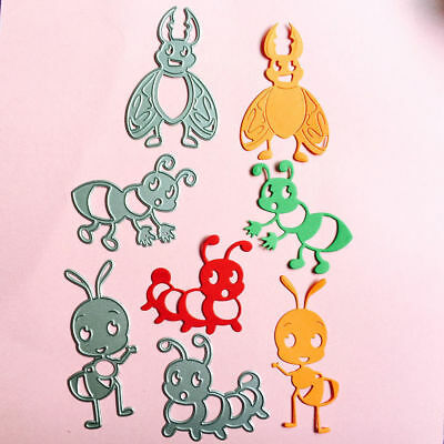 Insect Ant Bee Cutting Dies Stencil DIY Scrapbooking Album Paper Card Embossing