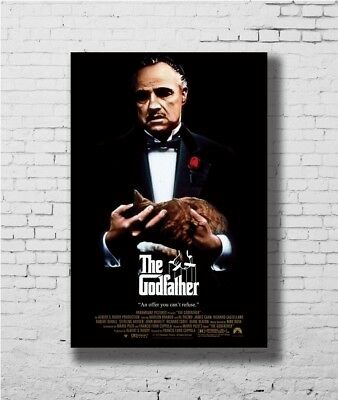 P-534 Art The Godfather Part II Movie Alternative Classic Canvas Poster 24x36in