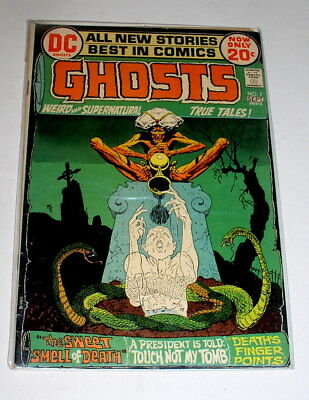 Ghosts #7    Bronze Age Dc 1977  Mike Kaluta Cover 1972