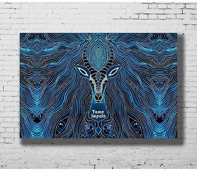 24x36 14x21 Poster Tame Impala Trippy Psychedelic Star Rock Music Band Art P4358