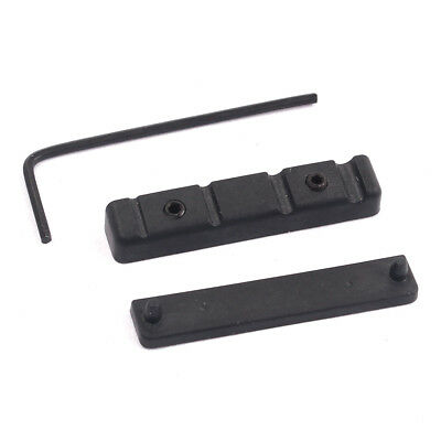 Baoblaze Bridge Slotted Nut Wrench Black For 4 String Guitar Bass Parts
