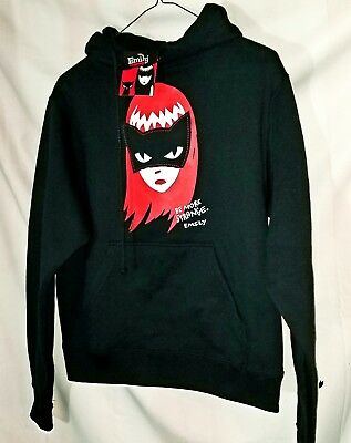 Emily the Strange Hoodie Be More Strang Juniors Large New With Tags Licensed