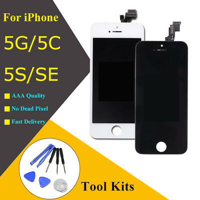 Assembly LCD Display Digitizer for iPhone SE Touch Screen Replacement with Tools