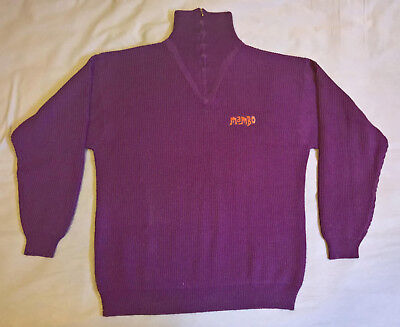 Original authentic 90s Mambo Purple Jumper Size L Unisex (vintage, retro)