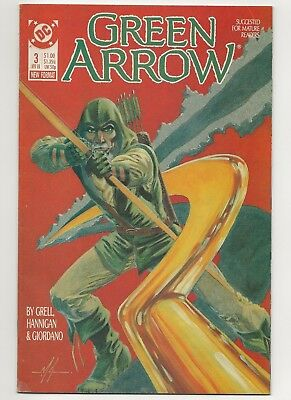 Green Arrow #3  FN  (1987 1st Series) DC   *Free Shipping*