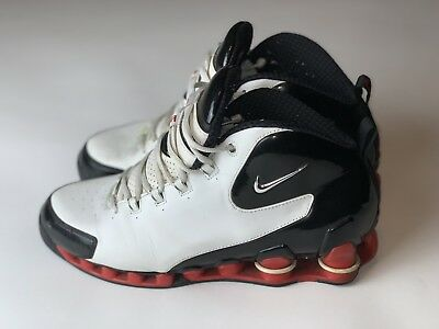 dfcdc1eacc5caf NIKE SHOX VINCE CARTER VC 3 III WHT BLK  RED (307111-102) Size 11 ...