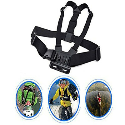 Adjustable Chest Strap For GoPro HD Hero 7 6 5 4 3+ 3 2 Action Camera Harness