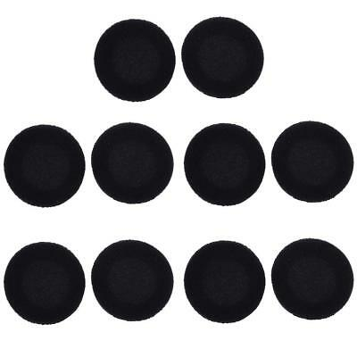 10x 5cm Foam Earpads Cover Cushion Sponge Cover Replacement Ear Cup EarphoneHICA