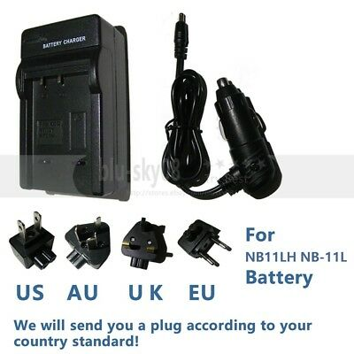 Battery Charger NB-11L For Canon IXUS  150 155 175 177 180 182 SX410 IS SX420 IS