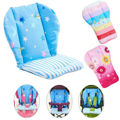 High Chair Baby Cotton Feeding Seat Portable Folding Cover Booster Mats Pads