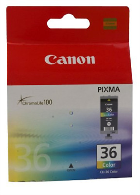 Canon Cli-36 Colour Ink Cartridge Nuevo