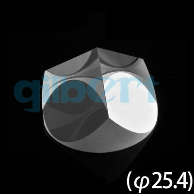 Optical Glass Pyramid Prism K9 25.4mmx19mm Physics Refractor Light Spectrum