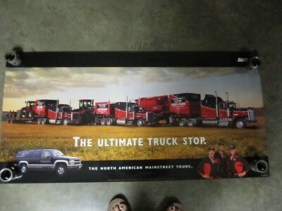 """Case IH Tractor Truck Semi Dealership Posters Advertising 44"""" X 22"""" AE-220077"""