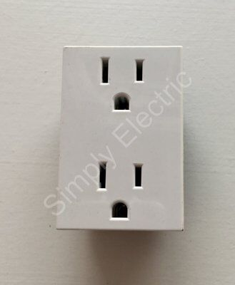 Job lot of Legrand Double US socket 15a White -74179 - £2.70/unit